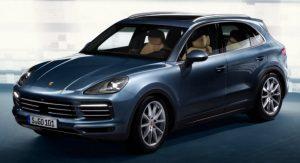 2018 Porsche Cayenne leaked