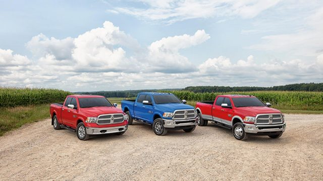 2018 Ram Harvest Edition models