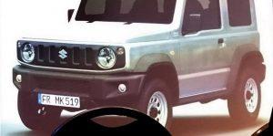 2018 Suzuki Jimny leaked