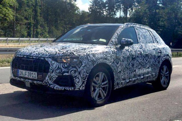 2019 Audi Q3 spy