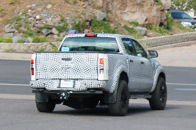 2019 Ford Ranger Raptor spy