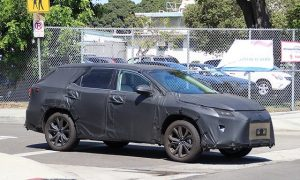 2018 Lexus RX three-row spy