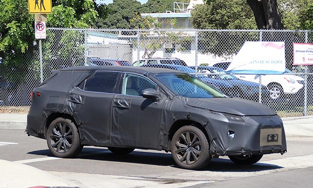 2019 Lexus RX three-row spy