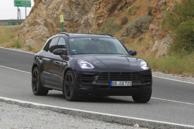 2019 Porsche Macan Caught Refreshed Again Looks Good Gets Powerful