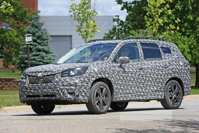 2019 Subaru Forester spy