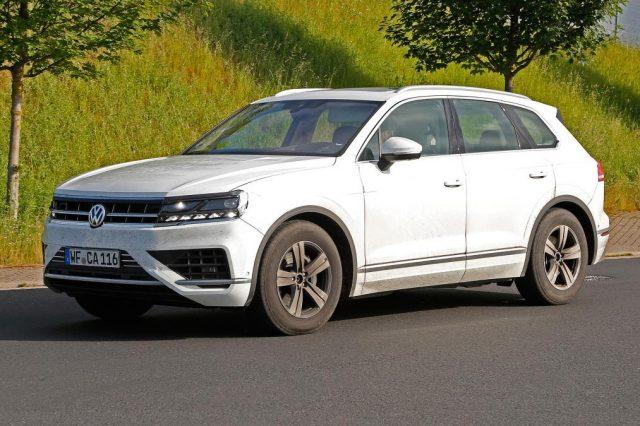 2019 VW Touareg US