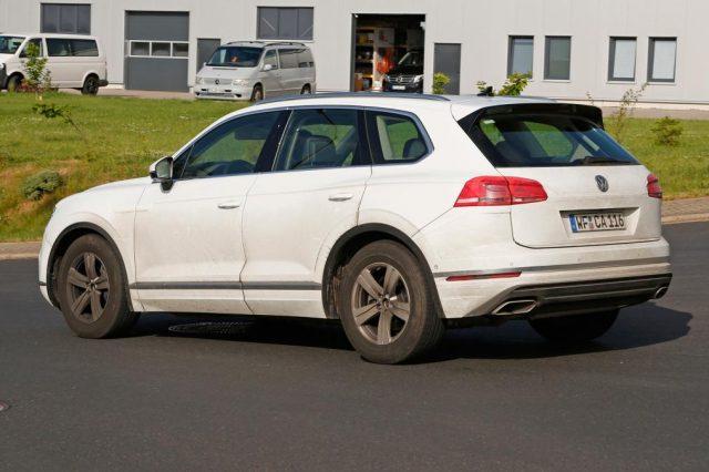 2019 VW Touareg US specs