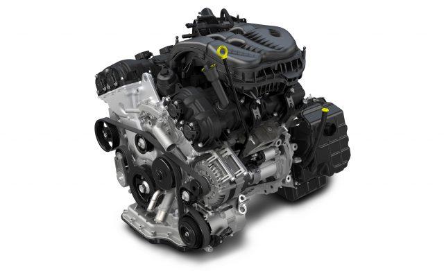 3.6-liter V6 Pentastar