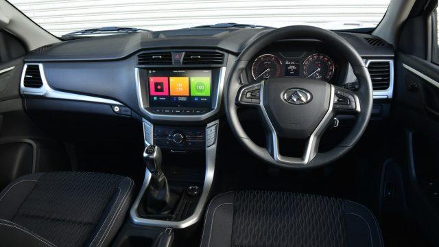 2018 LDV T60 cab