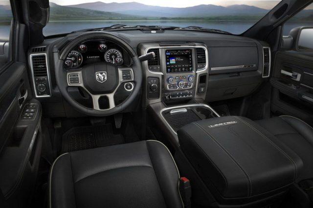 2018 Ram 3500HD Diesel interior