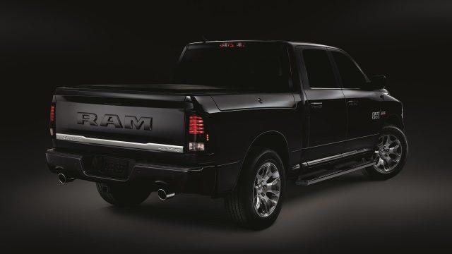 2018 Ram Limited Tungsten Edition rear