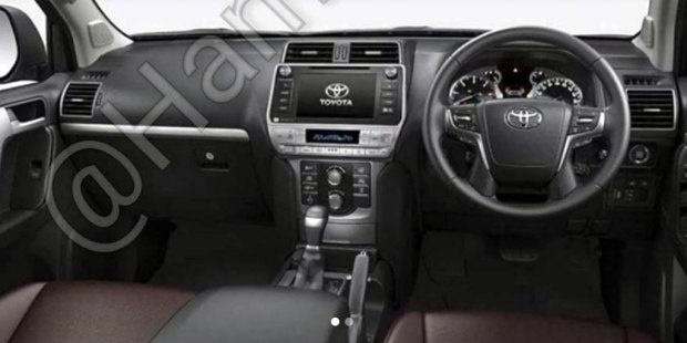 2018 Toyota Land Cruiser Prado inside