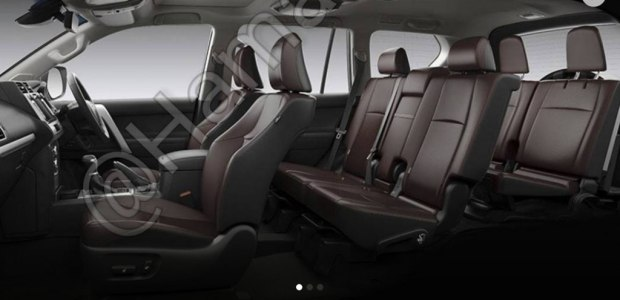 2018 Toyota Land Cruiser Prado seats