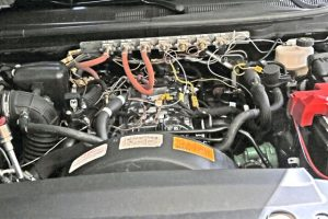 2019 Ford Ranger underhood