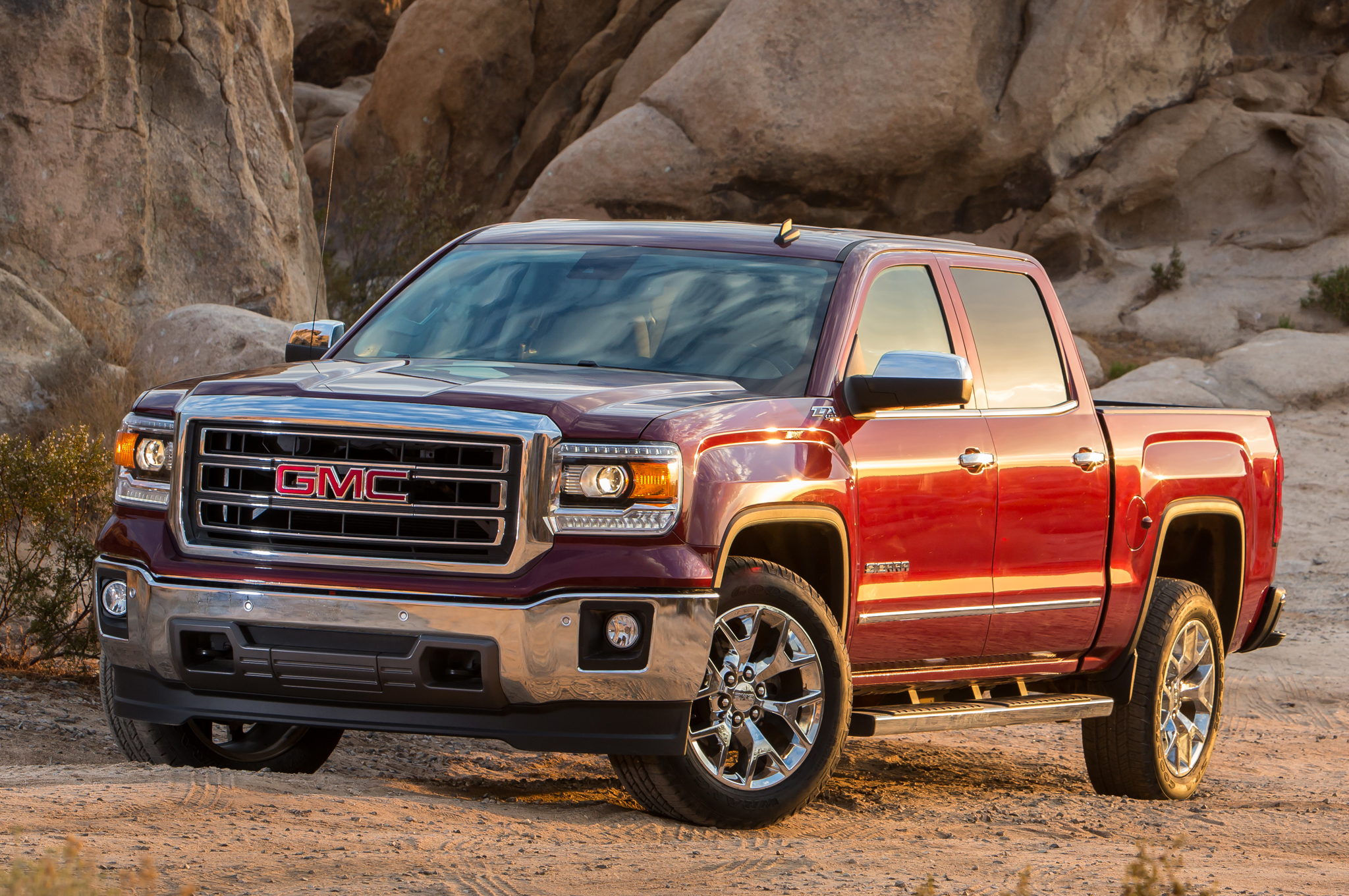 testing gmc news components spied spy sierra with powertrain diesel shots
