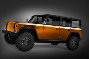 4-Door Bollinger B1 Electric Sport Truck