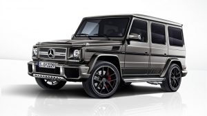 Mercedes-AMG G63 and G65 Exclusive Editions