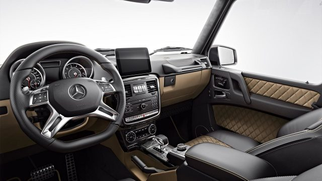 Mercedes-AMG G63 and G65 Exclusive Editions interior