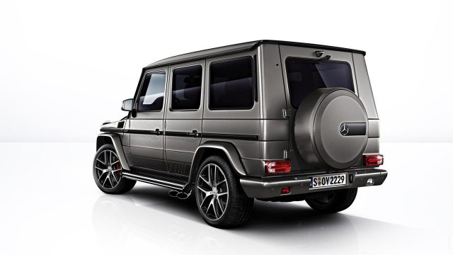 Mercedes-AMG G63 and G65 Exclusive Editions rear