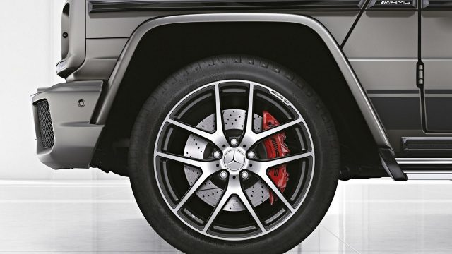 Mercedes-AMG G63 and G65 Exclusive Editions wheels