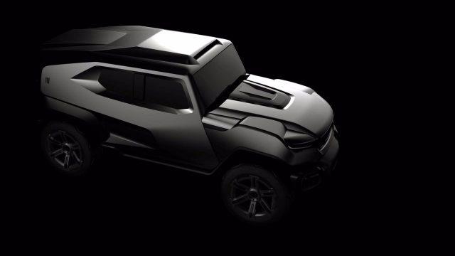 2018 Rezvani Tank SUV teaser