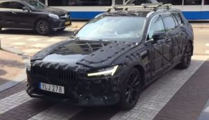 2019 Volvo V60 redesign spy