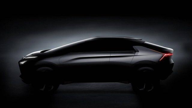 Mitsubishi e-Evolution side