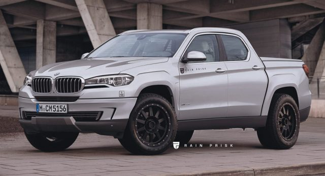 the 2019 BMW Pickup Truck rendering