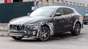 2018 Maserati Levante GTS spy