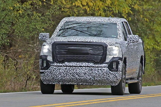 2019 GMC Sierra 1500 spotted again: Features amazing ...
