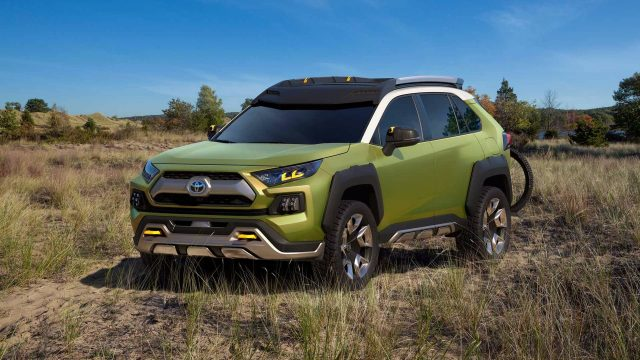 Toyota FT-AC concept SUV