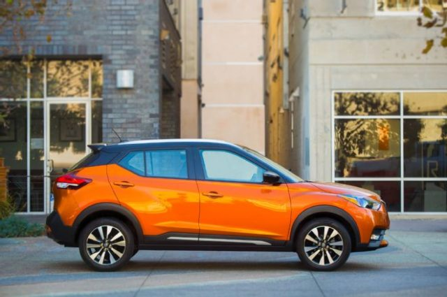 2018 Nissan Kicks SUV side
