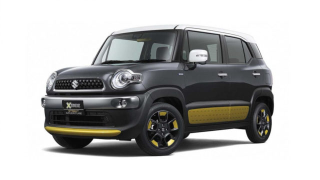 2018 suzuki xbee hybrid and off road crossover with available awd suvs trucks. Black Bedroom Furniture Sets. Home Design Ideas