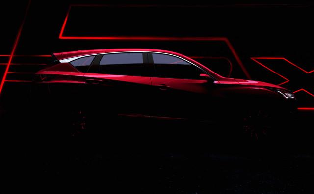 2019 Acura RDX teaser
