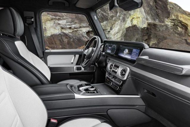 2019 Mercedes-Benz G-Class cab
