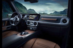2019 Mercedes-Benz G-Class cockpit