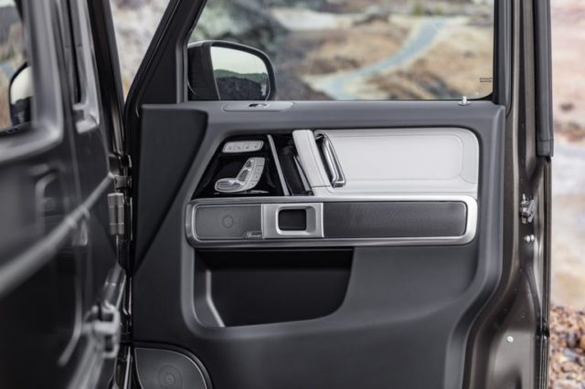 2019 Mercedes-Benz G-Class door panels