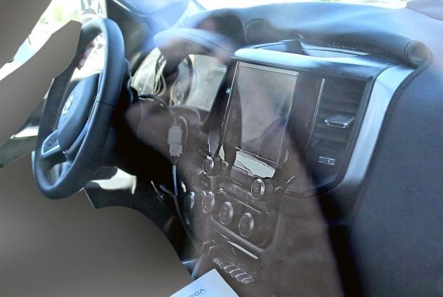 Next-Gen Ram 1500 interior