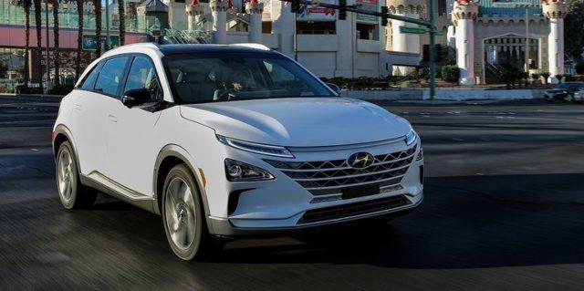 2019 Hyundai Nexo fuel-cell