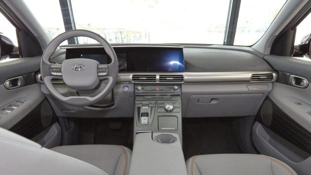 2019 Hyundai Nexo fuel-cell interior