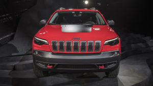 2019 Jeep Cherokee front