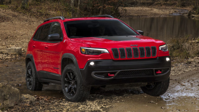 2019 Jeep Cherokee official images