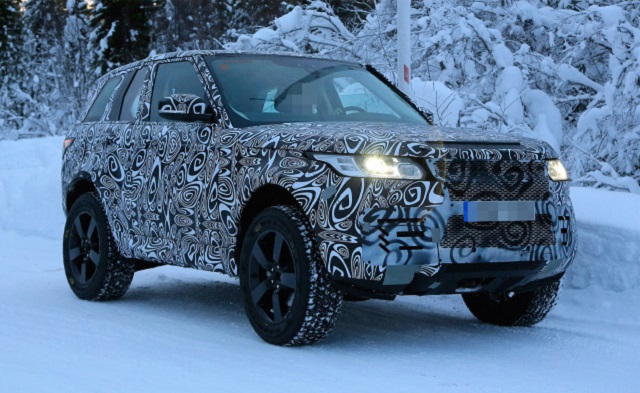 2019 Land Rover Defender Spotted on Snow