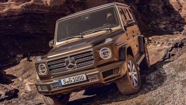 2019 Mercedes-Benz G-Class exterior