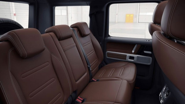 2019 Mercedes-Benz G-Class interior-seats