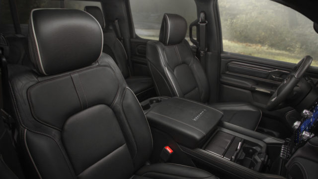 2019 Ram 1500 front seats