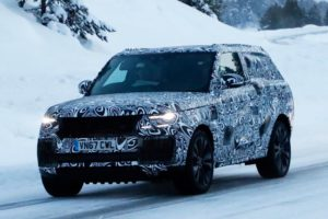2019 Range Rover Coupe spy