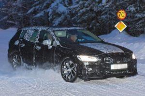 2019 Volvo V60 spy
