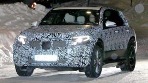 2020 Mercedes-Benz EQC spy