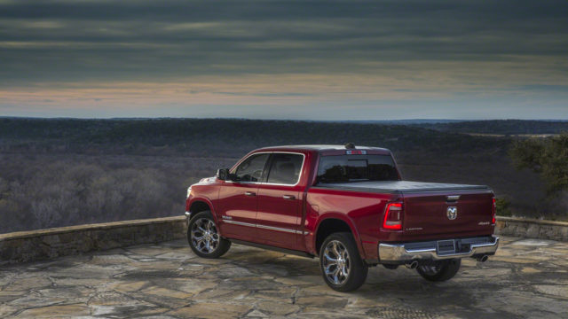 new-gen Ram 1500 rear-end